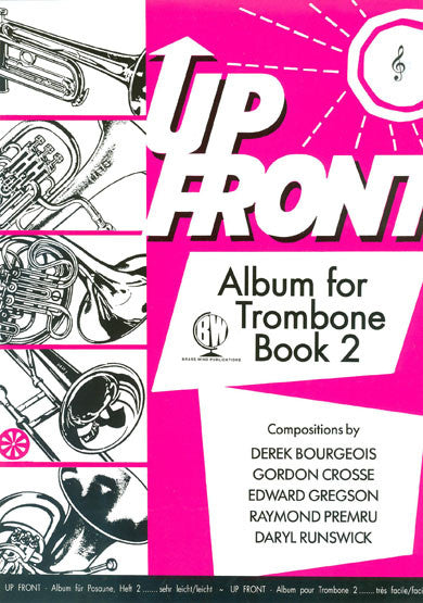 Up Front Album for Trombone Book 2 TC