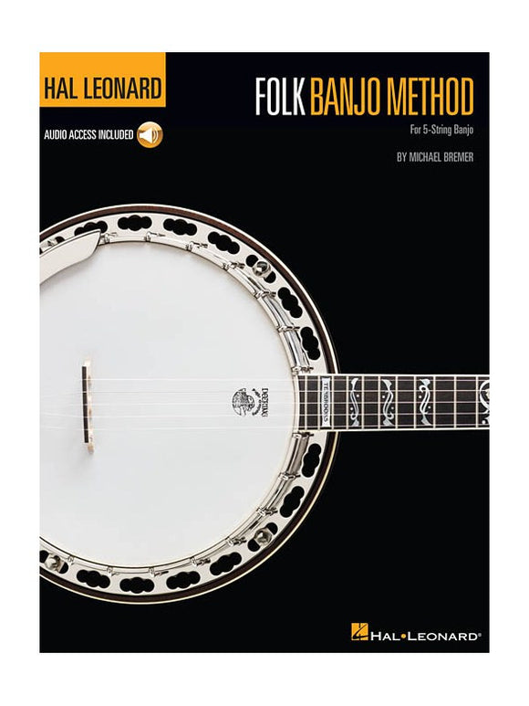 Hal Leonard Folk Banjo Method (Book/Online Audio)