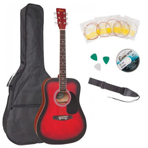 Encore Acoustic Guitar Outfit
