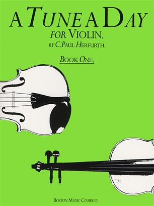 A Tune A Day For Violin Book One