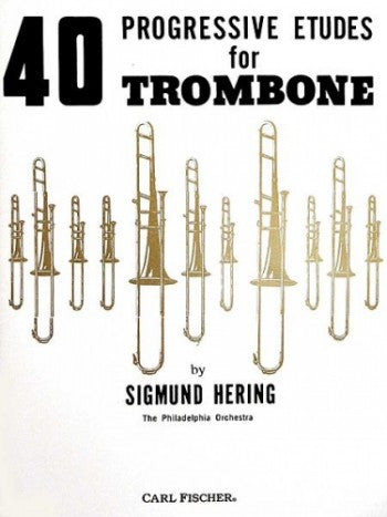 Hering S. - 40 Progressive Studies for Trombone