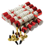 Christmas Crackers (8) Concerto Red 25cm