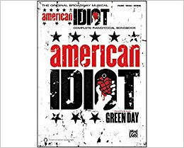 Green Day American Idiot The Musical Pvg Book