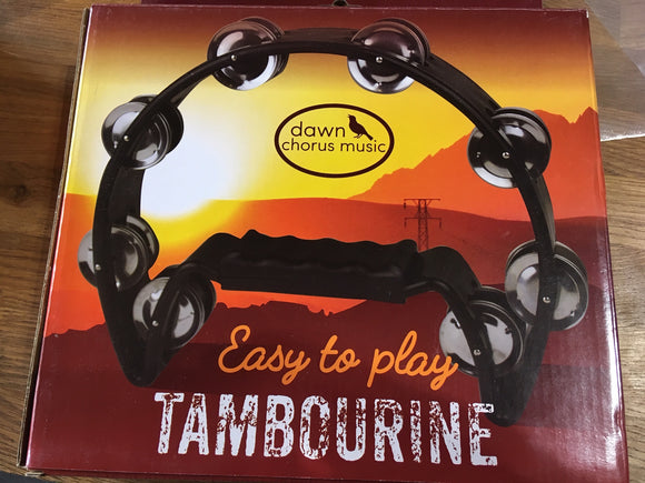 Easy to Play Tambourine