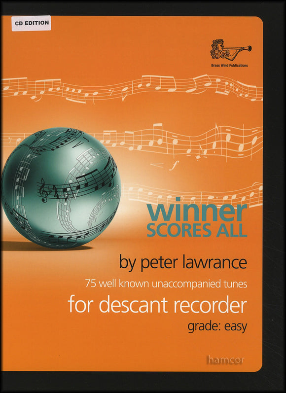 Winner Scores All - Descant Recorder with CD