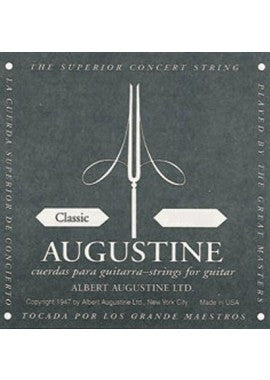 Augustine Classical Guitar Strings - Black