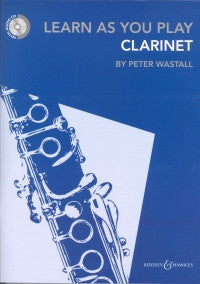Learn As You Play Clarinet Book & Cd Wastall