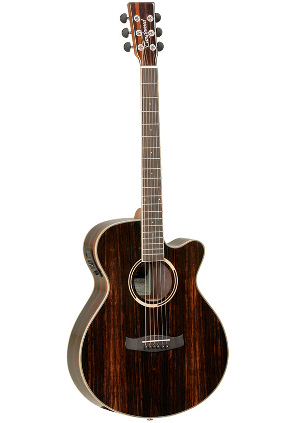 Tanglewood DBTSFCEAEB Discovery Exotic Ebony Electroacoustic