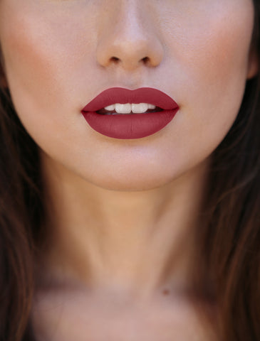 best matte lipstick, red matte lipstick, fall color makeup, fall makeup, gothic makeup, edgy makeup, grunge makeup, brown matte lipstick , aniise cosmetics, disney channel, sammi jack