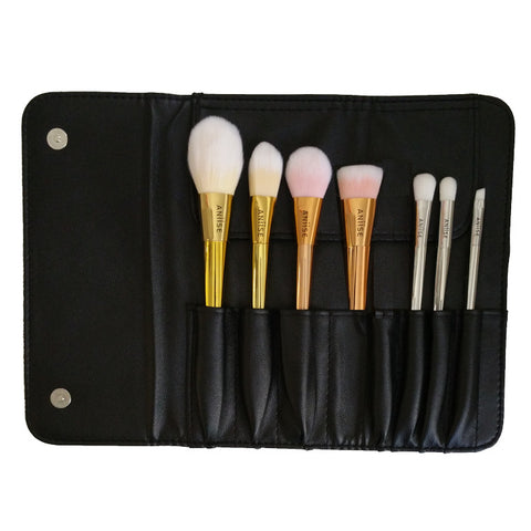 7 Piece Metallic Brush Set - Aniise - 1