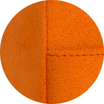 Alcantara detail orange