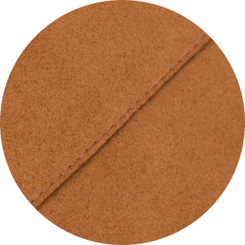 Alcantara detail gold brown
