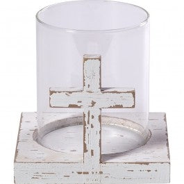 Cross Candle Holder Code: 173429