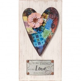 Do Small Things With Great Love Plaque Code: 189912