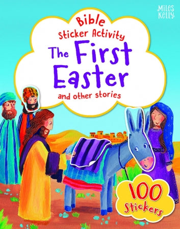Bible Sticker Activity: The First Easter Code: 978-17-86177-537