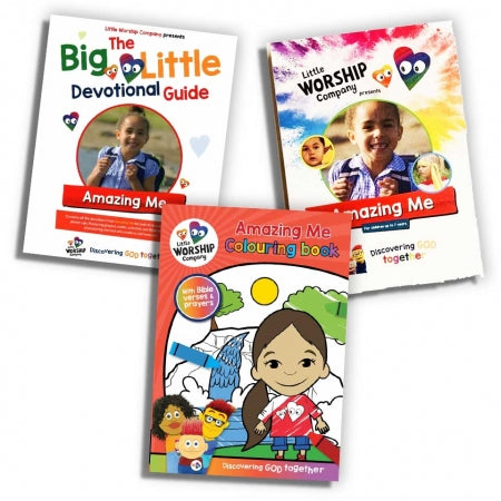 Little Worship Company - 'Amazing Me' DVD, Devotional & Colouring Book Pack Offer Code: LWC-SOB01