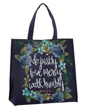 CB Justly, Mercy, Humbly Tote Bag Code: B2213