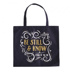 Be Still and Know Tote Bag Code: B3779
