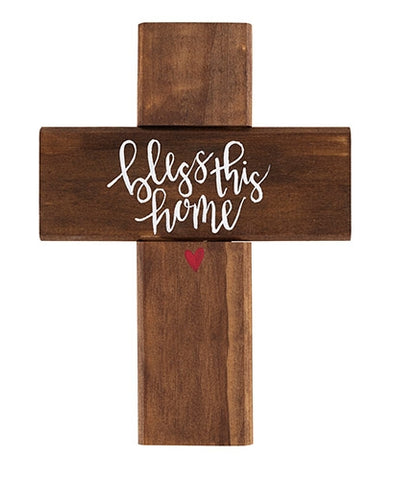 Bless This Home Wall Cross Code: B4322