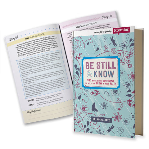 Be Still & Know Book - Bible Based Devotionals