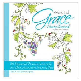 Words of Grace Colouring Devotional Code:CDEV
