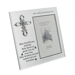 Juliana Glass Photo Frame - On Your Confirmation Code: CG1202CON
