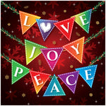 Love, Joy, Peace Christmas Cards Code: CM140