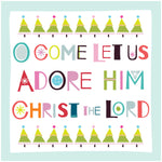 Adore Him, Christ the Lord Christmas Cards Code: CM141