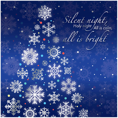 Silent night Luxury Christmas Cards Code: CM317