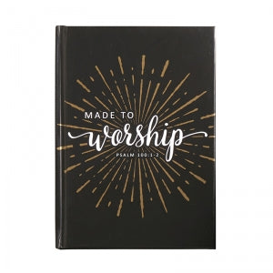 Made To Worship Journal Code: D4200