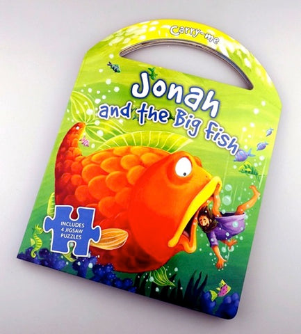 Jonah and the Big Fish Puzzle Carry Book Code: 978-87-92105-769