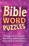 Puzzle Activity Book Bible Word Puzzles Code: E4687