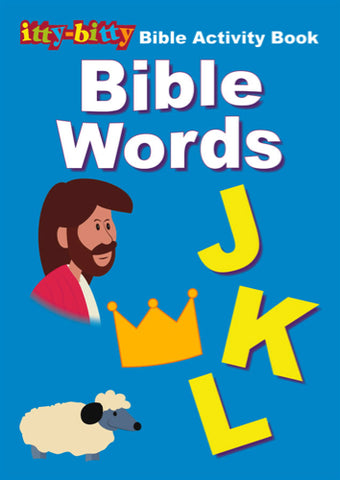 ITTY BITTY ACTIVITY BOOK - BIBLE WORDS Code: E5034