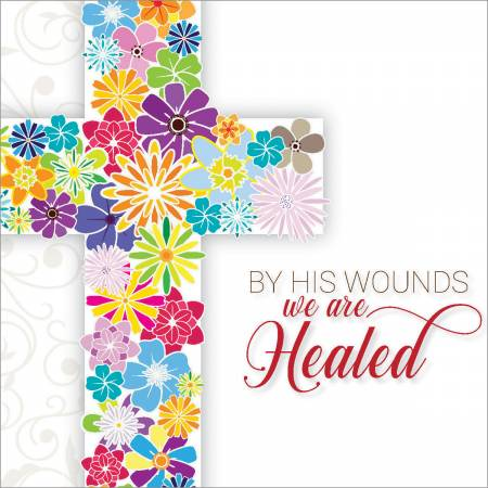 By His Wounds Easter Cards (pack of 5) Code EA138