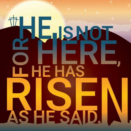 He is Risen Sunrise Easter Cards (pack of 5) Code EA139