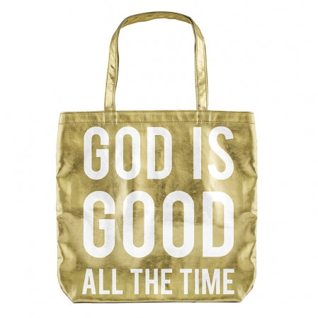 CB Metalic Tote - God is Good Code: F3352