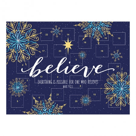 Believe Advent Calendar Code: F4319