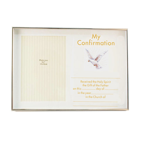 Juliana My Confirmation Box Frame 5X7 For Personalisation Code: FS287CON