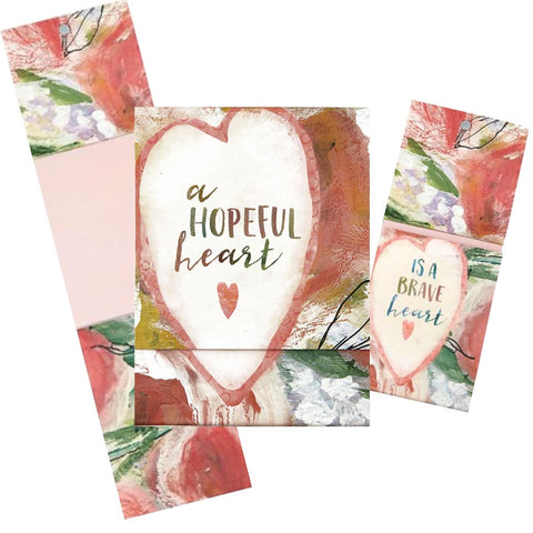 Hopeful Heart Pocket Notepad Code: G1855