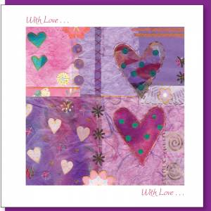 With Love Greetings Card Code GE74