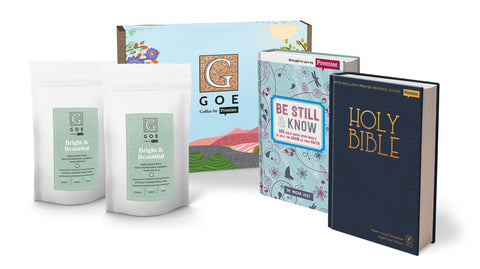 Garden of Eden Coffee and Bible Gift Pack (Ground Coffee)