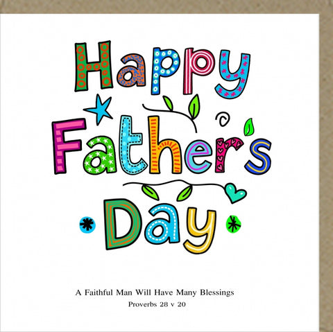 Happy Father's Day Card Code PM377