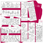 Images of Hope Colouring Bookmarks Code: IOHBM