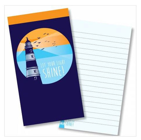 Let your light shine jotter notepad Code:J145