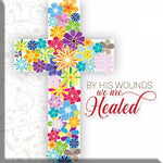 By His wounds Magnet Code M305