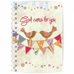 God Cares A5 Notebook Code N128