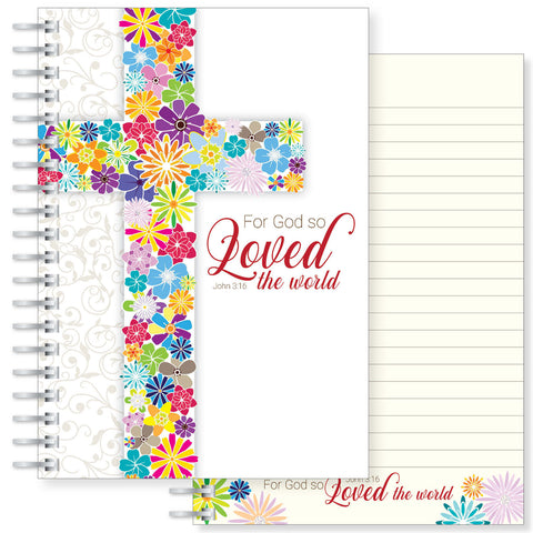 God so loved the world A5 notebook Code: N151