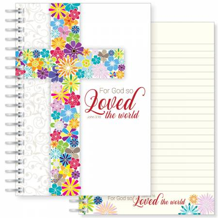 God so loved A5 Notebook Code N151