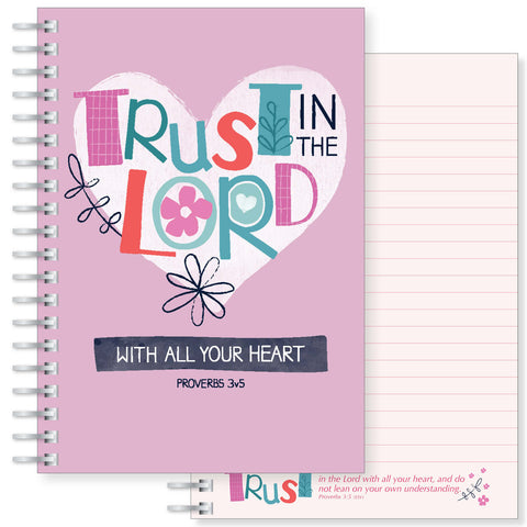Trust in the Lord A5 notebook Code: N152