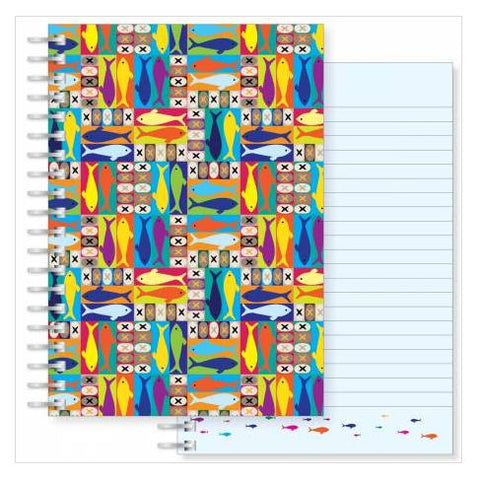 Loaves and fish A5 notebook Code:N163